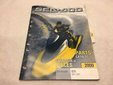 SeaDoo 2000 GTI Models 5647/5657 Parts Catalog Manual