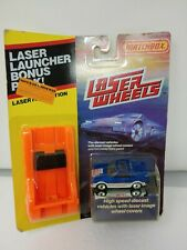 NEW MATCHBOX Laser Wheels TOYOTA MR2 Bonus Launcher Pack RARE HTF 1987-1988