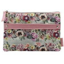 Floral Garland Cosmetic Makeup Pouch – Danielle Creations Bag Cosmetics Clutch