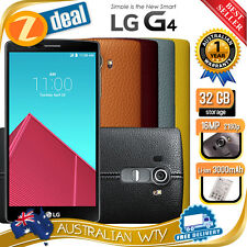 (NEW SEALED BOX) LG G4 32GB 4G LTE FACTORY 100% UNLOCKED PHONE + 12MTH AUS WTY