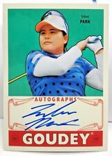 Inbee Park 2016 UD Goodwin Champions Goudey on-card Autograph Auto SP - 1:630