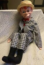 "1968 MORTIMER SNERD VENTRILOQUIST DUMMY DOLL PUPPET - 30"" tall"