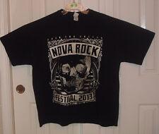 Nova Rock Festival 2009 Kiss Kings of Leon Black 100% Cotton T Shirt Size 2XL
