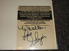 Ginger Lynn Allen signed inscribed vintage 1993 Bound & Gagged promo card