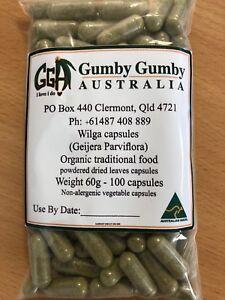 Wilga 100 quality capsules (Geijera Parviflora) - cool processed - Vege caps