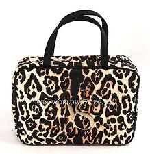 NEW Victorias Secret Hanging Travel Case Leopard Cosmetic Travel Bag