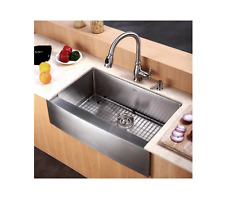 """Country Kitchen Sink Best Modern Farm Farmhouse NoiseDefend Stainless Steel 30"""""""