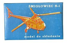New ListingPzw - Śmigłowiec H-1 Helicopter - Polish Model Kit - Sealed Parts