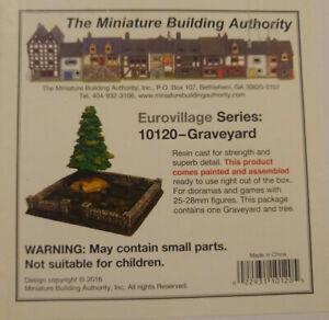 MBA 25mm Eurovillage Series 10120 Graveyard Miniature Building Authority