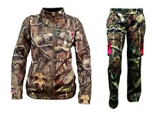 ScentBlocker Sola Womans Knock Out Jacket Pant Set Large Trinity Mossy Oak