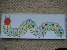 Teaching Resources - Caterpillar Number - Line to 20