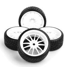 1:10 HPI Drift RC Model Vehicle Parts Tyres Wheel Rims Hubs Set (4pcs) 12 Spoke