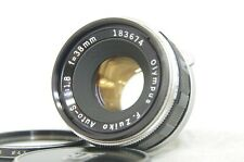 Olympus F.Zuiko Auto-S 38mm F/1.8 MF Lens SN183674 for Pen F FT FV from Japan