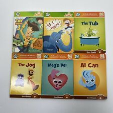 Leap Frog Tag Junior Book Lot 6 Hardcover Phonics Toy Story 3