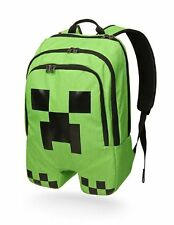 Minecraft Schoolbag Creeper Design Backpack Rucksack Boy Sports Mine Craft Bag