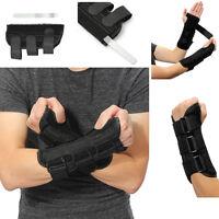 Breathable Wrist Brace Carpal Tunnel Splint Support Arthritis Sprain Strain Pain