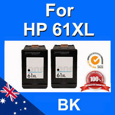 2x Ink BLACK 61XL for HP Officejet 2620 4630 Envy 4500 5530 Deskjet 2510 1510