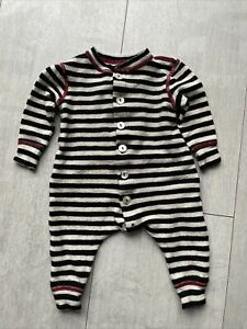 Nui Knitted Wool BodySuit 1-3M