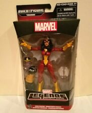 HASBRO MARVEL LEGENDS THANOS B.A.F SERIES SPIDER-WOMAN(JESSICA DREW) W/HEAD