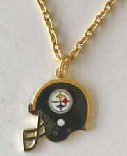 Pittsburgh Steelers Helmet Petite Charm Necklace  NFL Licensed Jewelry