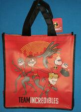 @DISNEY PIXAR THE INCREDIBLES REUSABLE TOTE/SHOPPING BAG /FAVOR OR GIFT BAG@NWT!