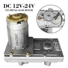 Moteur aimant permanent DC 12//24 V 30 W haute vitesse CW//CW r/éversible Moteur /à engrenage /électrique /à faible bruit pour g/én/érateur de bricolage 12V 3000 tr//min