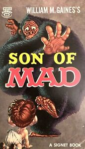 """RARE - Vintage MAD Paperback - """"Son of MAD"""" - 16th Printing, 1959 - FN/VF"""