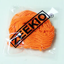 Zeekio Yo-yo Strings - (1) Ten Pack of 100% Polyester Yoyo String- Neon Orange