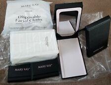 Lot 4 Mary Kay Folding Mirrors Foam Trays Disposable Facial Cloths  Consultant