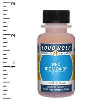 Iron Oxide Red 1 Oz Reagent Grade 25 Micron Powder Usa Seller