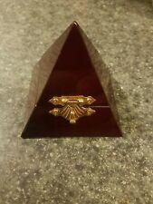 Unique Pyramid Ring Box / Brand new