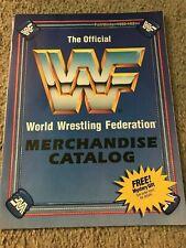 1990 WWF Catalog Shirt Wrestling Buddies HULK HOGAN TED DIBIASE ULTIMATE WARRIOR