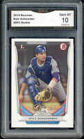 2014 Kyle Schwarber Bowman rookie gem mint 10 #DP2