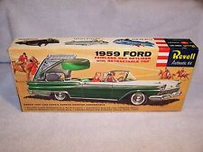 Vintage Revell 1959 Ford Fairlane 500 Skyliner Model Kit! Unbuilt
