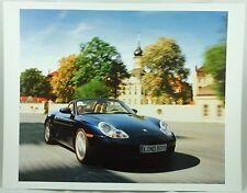 Porsche Blue Boxster S Car Photo Print Sportscar Poster