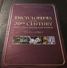 ENCYCLOPEDIA OF THE 20TH CENTURY- DAYS THAT SHOOK THE WORLD DVD (TIN CONTAINER)