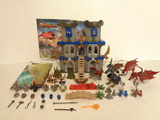 2009 Mega Bloks Construx Dragons #9414 Castle Attack Building Set Complete