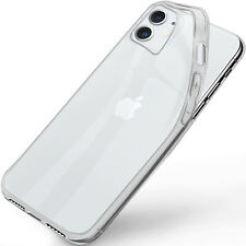 Silicone Case For Apple IPHONE 11 Back Cover IN Clear New Protective Transparent