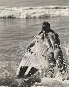 1990s Vintage BRUCE WEBER Male Nude Surfer Butt Beach Photo Engraving Art 16X20