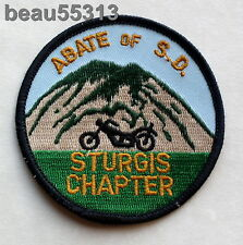 ABATE of SOUTH DAKOTA STURGIS CHAPTER VEST JACKET PATCH
