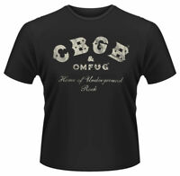 Official CBGB T Shirt Underground Rock Logo Black Mens Punk Rock NYC Tee New