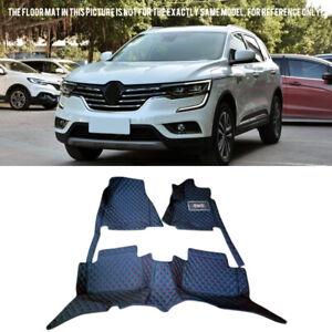 For Renault Koleos 2017-2019 Car Front & Rear Floor Mats Tray Liner Carpets 1Set