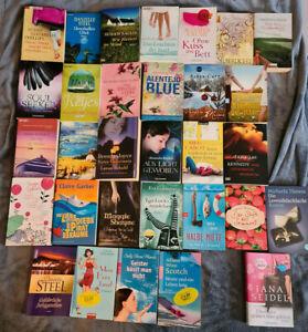 Liebesromane Taschenbuch Paket mit 31 Büchern - Buchpaket, Sammlung, Konvolut