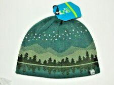 SUNDAY AFTERNOONS BEANIE HAT WOMEN MEN MILKY WAY REVERSIBLE GREEN NWT One SZ