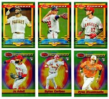 2021 TOPPS FINEST FLASHBACKS All Base Cards BUY MORE & SAVE 99¢ SHIP YOU PICK!