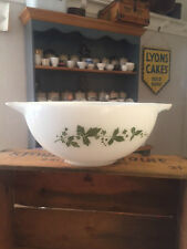 Vintage Pyrex Glass Large Mixing Bowl – Hawthorne – Great!