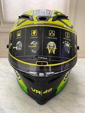 AGV Corsa Winter Test 2012 VR46 Limited edition Size  L  Valentino Rossi
