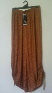 L Soft Polyester Luxe Weave Pants Rrp S129.95 Beautiful Taking Shape Size 20