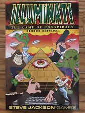 Illuminati: The Game of Conspiracy 2nd Edition