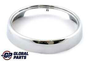 BMW Mini Cooper One R50 R52 R53 Front Panel Trim Ring Chrome 7132400